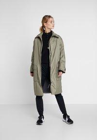 Didriksons - DALIA  - Waterproof jacket - mistel green - 1