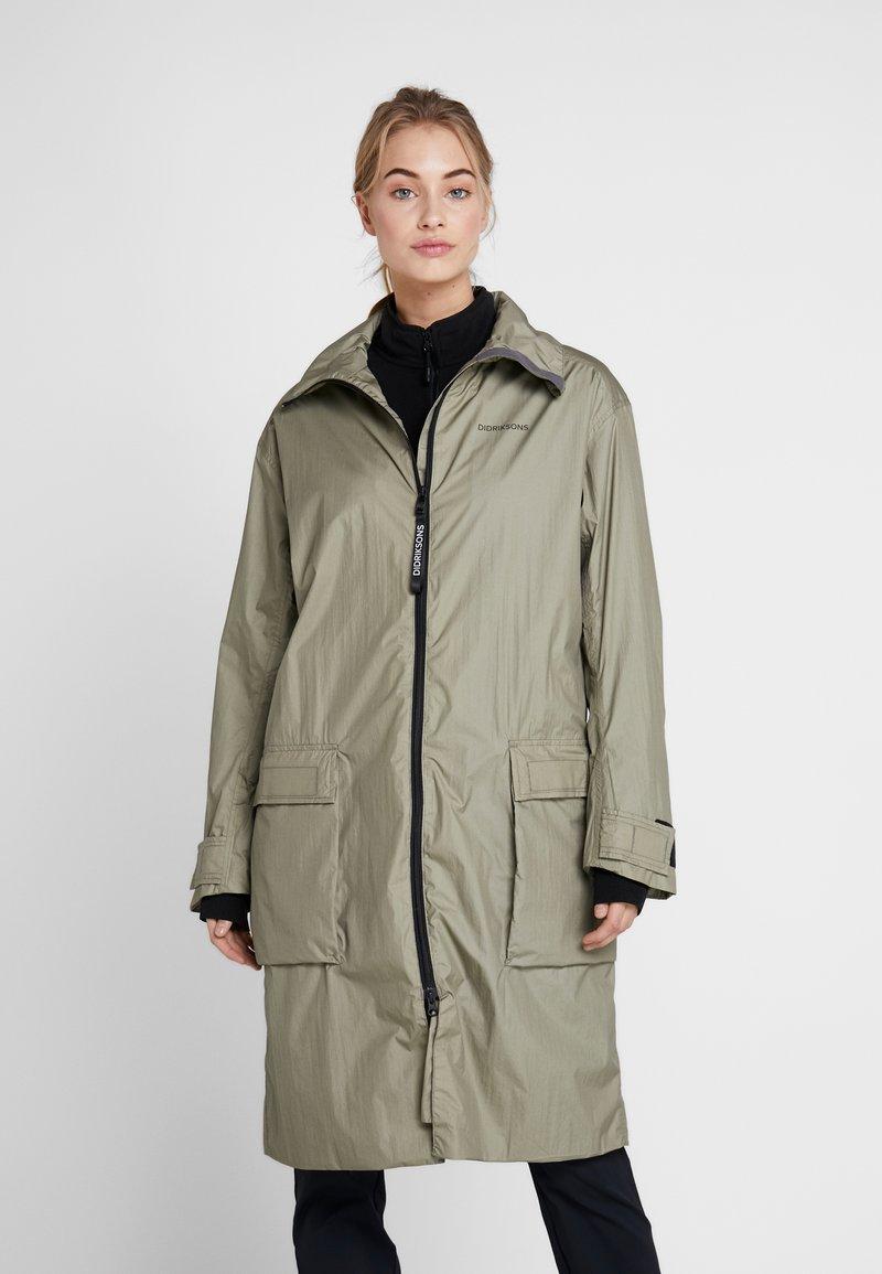 Didriksons - DALIA  - Waterproof jacket - mistel green