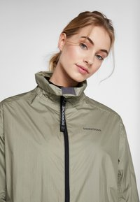 Didriksons - DALIA  - Waterproof jacket - mistel green - 3