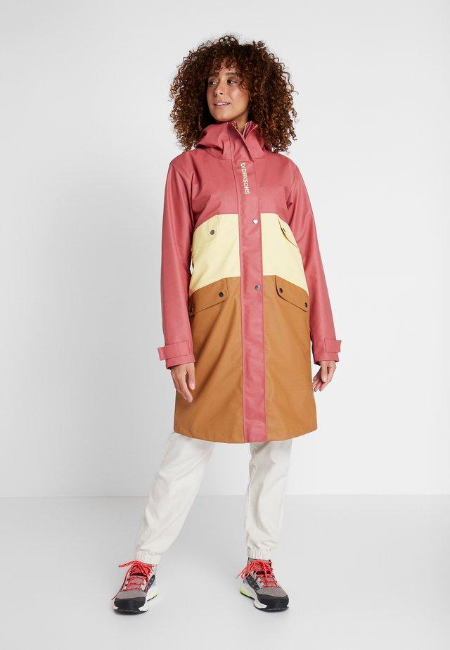 ESTRID - Waterproof jacket - pink blush