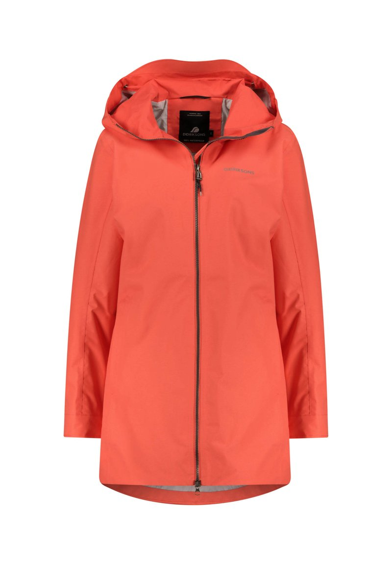 Didriksons - MIRANDA WOMEN'S PARKA - Waterproof jacket - rot (500)