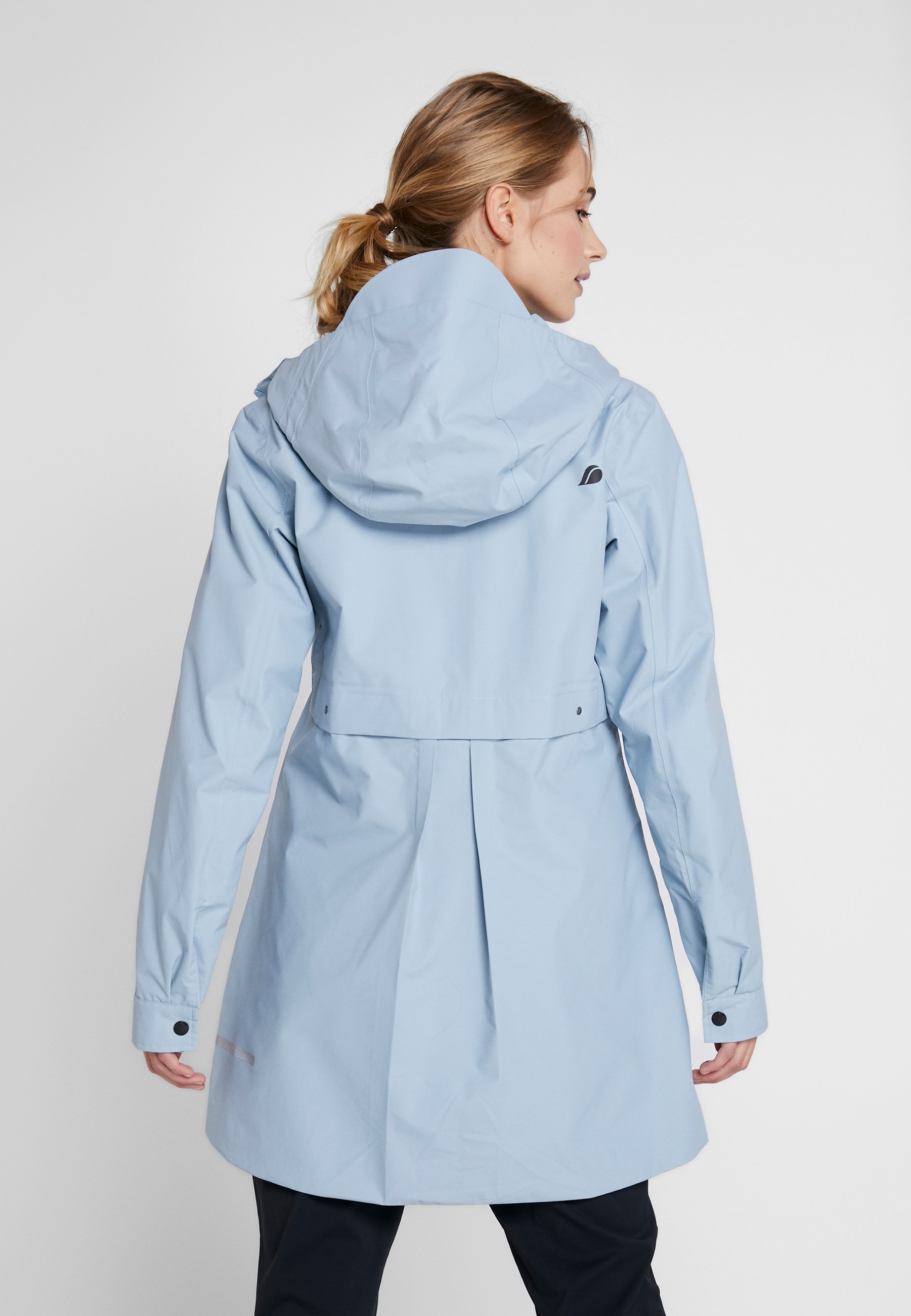 Didriksons Miranda Women's Parka - Regnjacka Cloud Blue