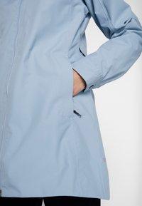 Didriksons - MIRANDA WOMEN'S PARKA - Waterproof jacket - cloud blue - 6