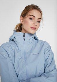 Didriksons - MIRANDA WOMEN'S PARKA - Waterproof jacket - cloud blue - 3