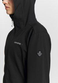 Didriksons - TERESA - Outdoorová bunda - black - 4