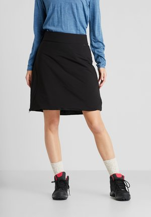 YRLA WOMENS SKIRT - Gonna sportivo - black
