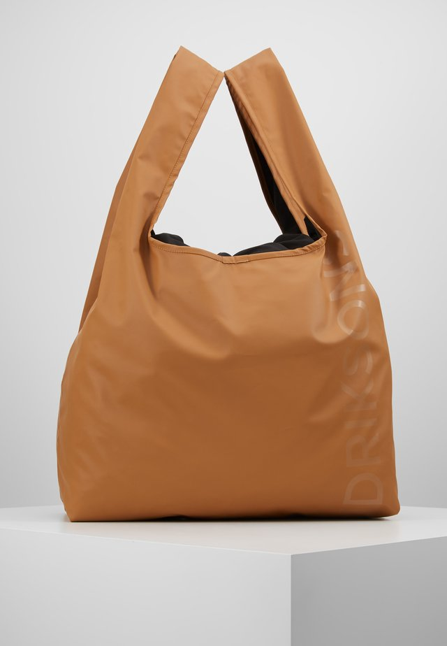 SKAFTÖ GALON BAG - Torba sportowa - almond brown