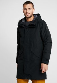 Didriksons - KENNY MENS - Parka - black - 0