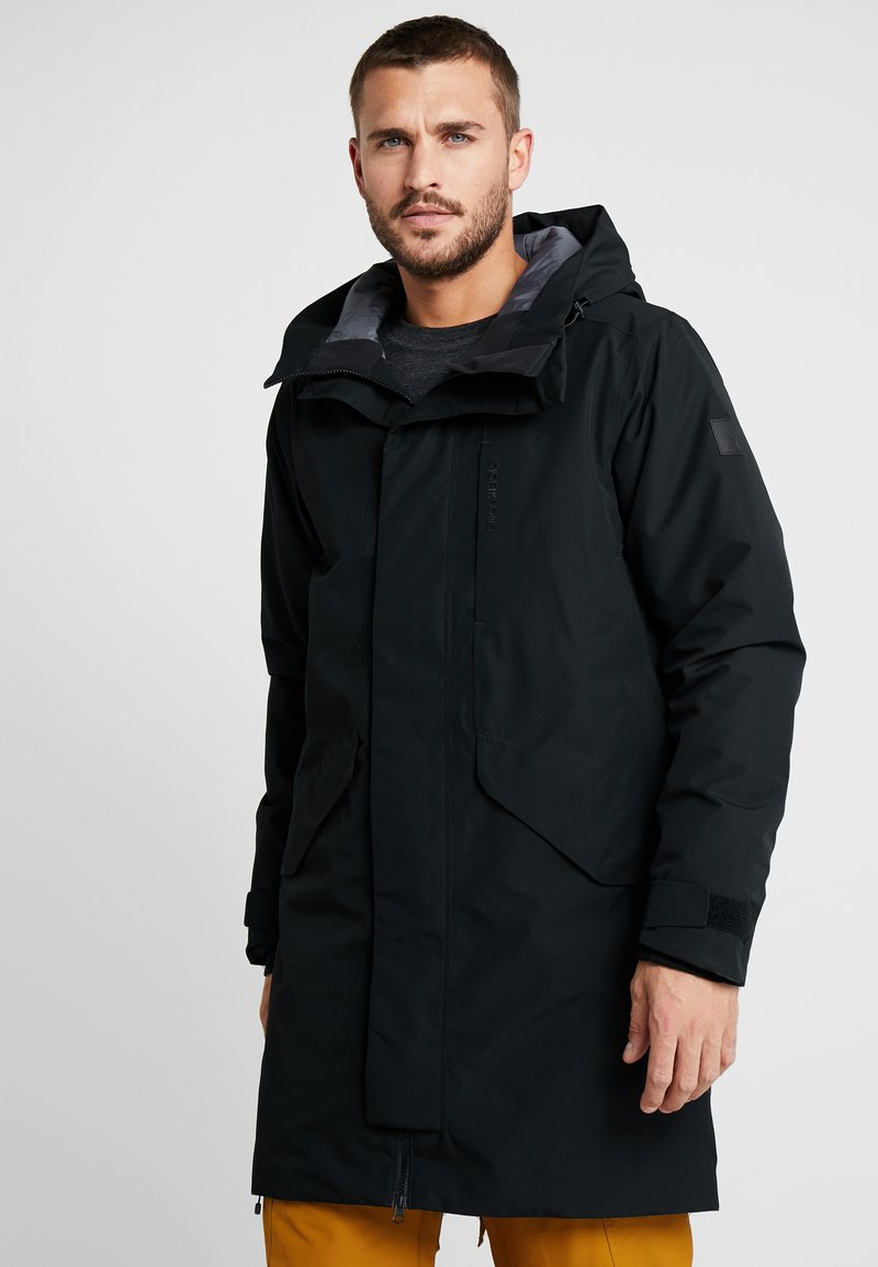 Didriksons - KENNY MENS - Parka - black