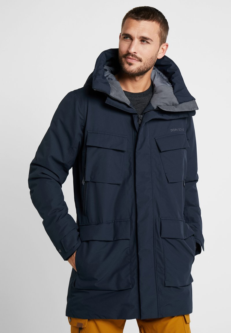 Didriksons - DREW MENS - Parka - dark night blue