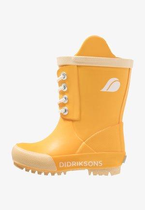 SPLASHMAN KIDS'S BOOTS - Stivali di gomma - yellow