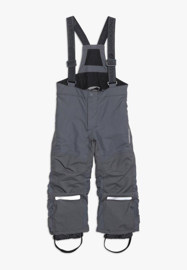 IDRE KIDS PANTS - Kangashousut - throne grey