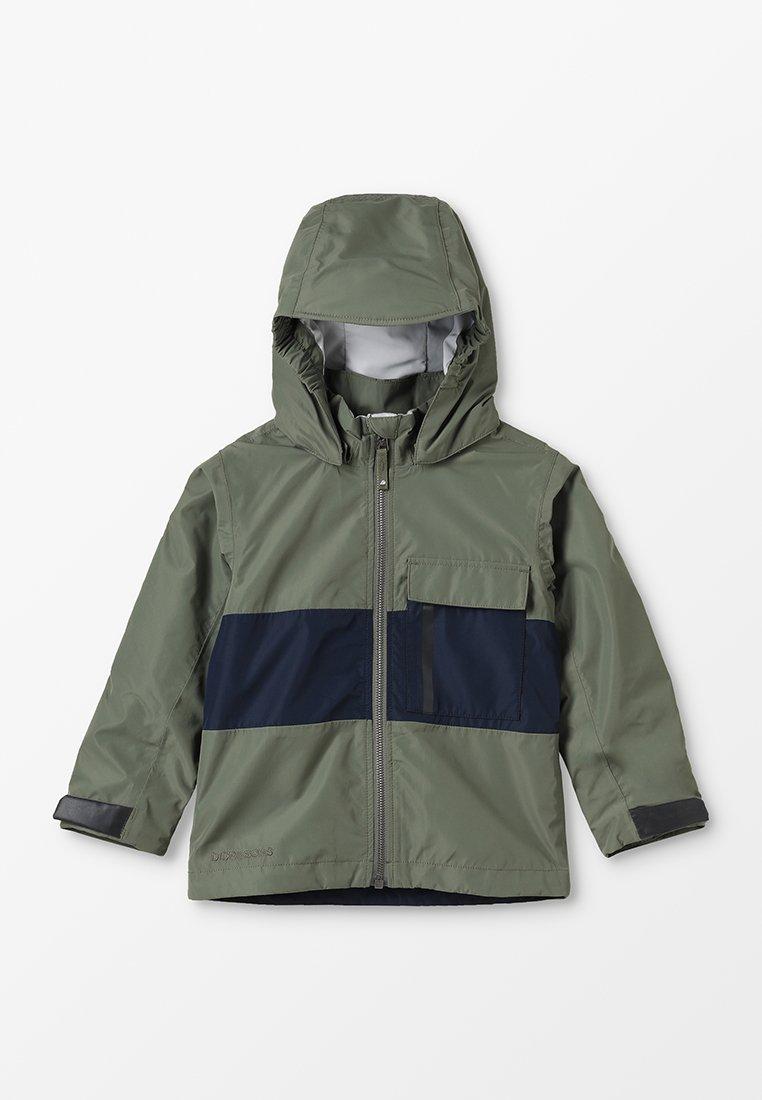 Didriksons - IGELKOTTEN KID'S JACKET - Waterproof jacket - khaki