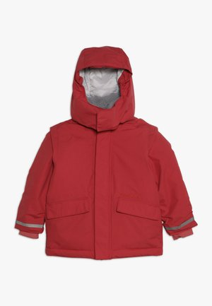 OSTRONET KIDS JACKET - Waterproof jacket - rasberry red