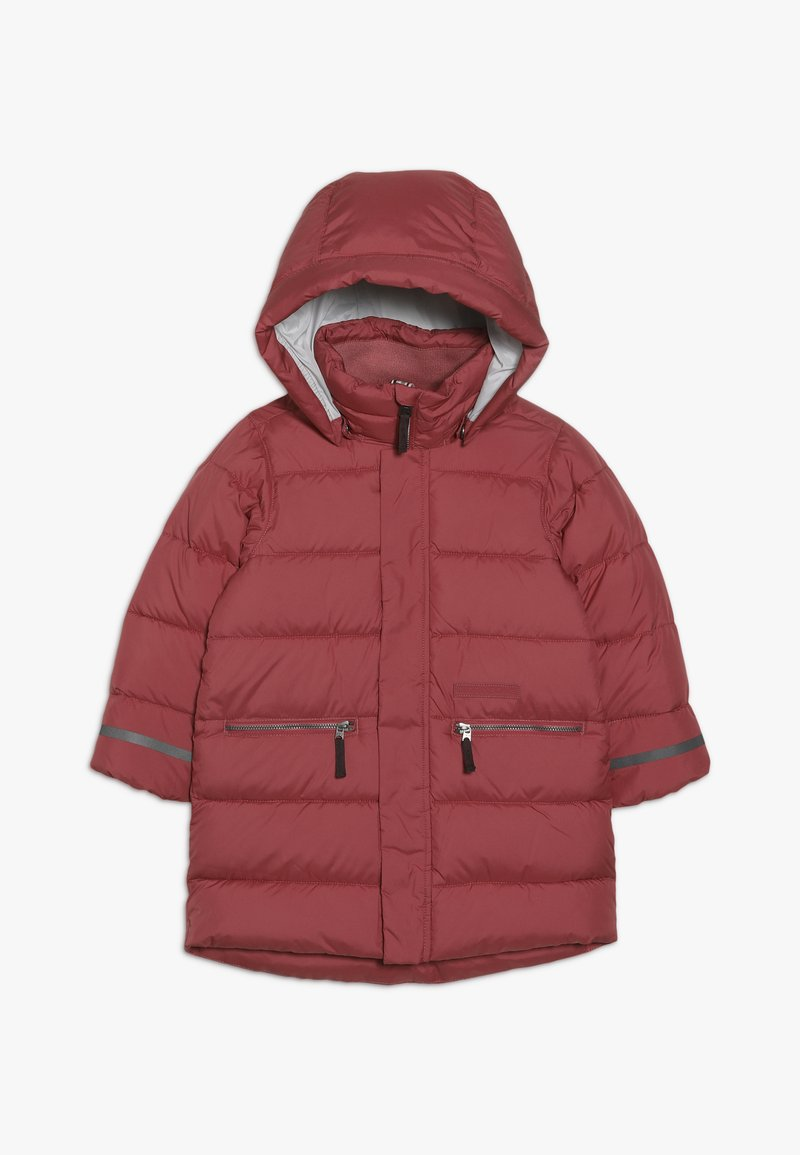 Didriksons - GÄDDAN KIDS PUFF JACKET - Cappotto invernale - rasberry red