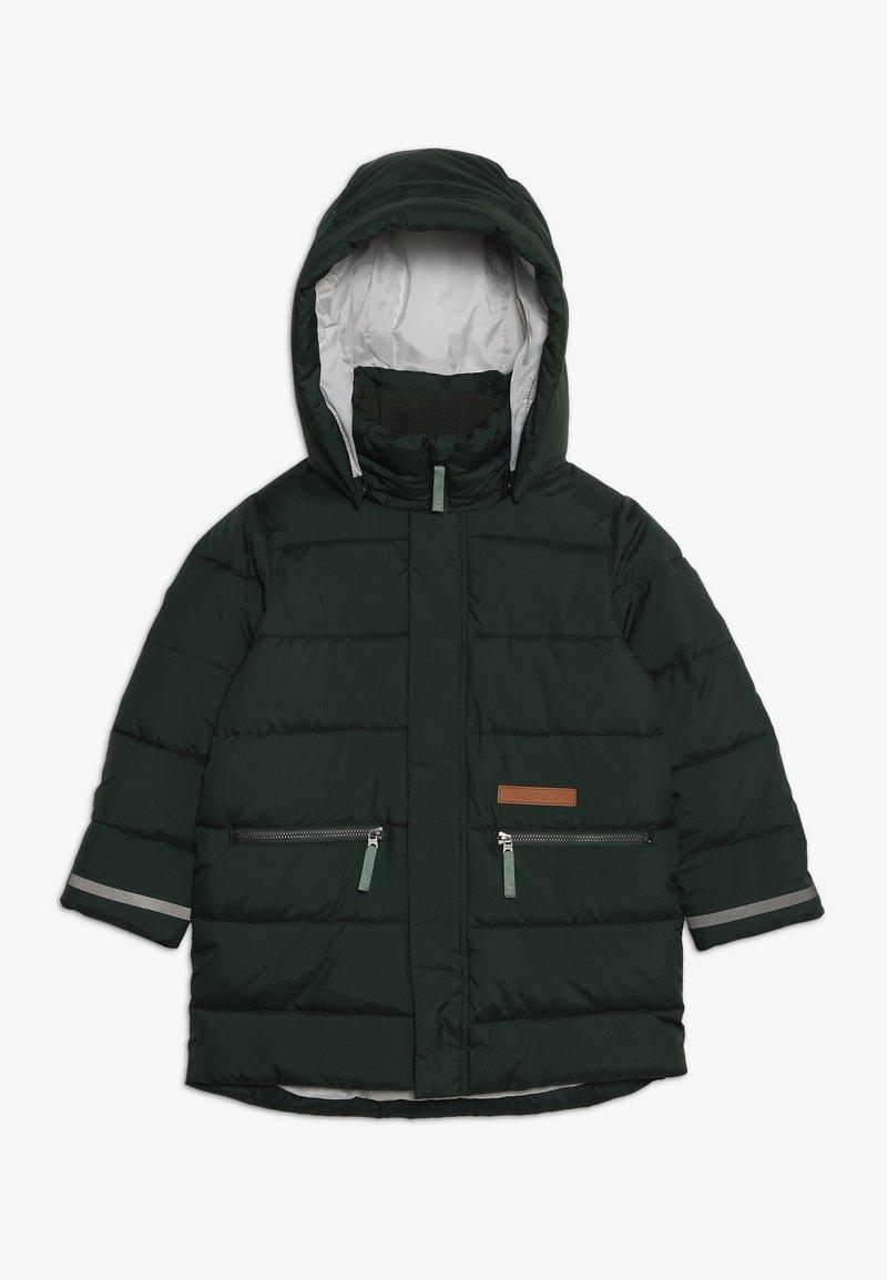 Didriksons - GÄDDAN KIDS PUFF JACKET - Zimní kabát - spruce green