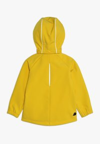 Didriksons - POGGIN KIDS JACKET - Soft shell jacket - oat yellow - 1