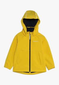 Didriksons - POGGIN KIDS JACKET - Soft shell jacket - oat yellow - 0