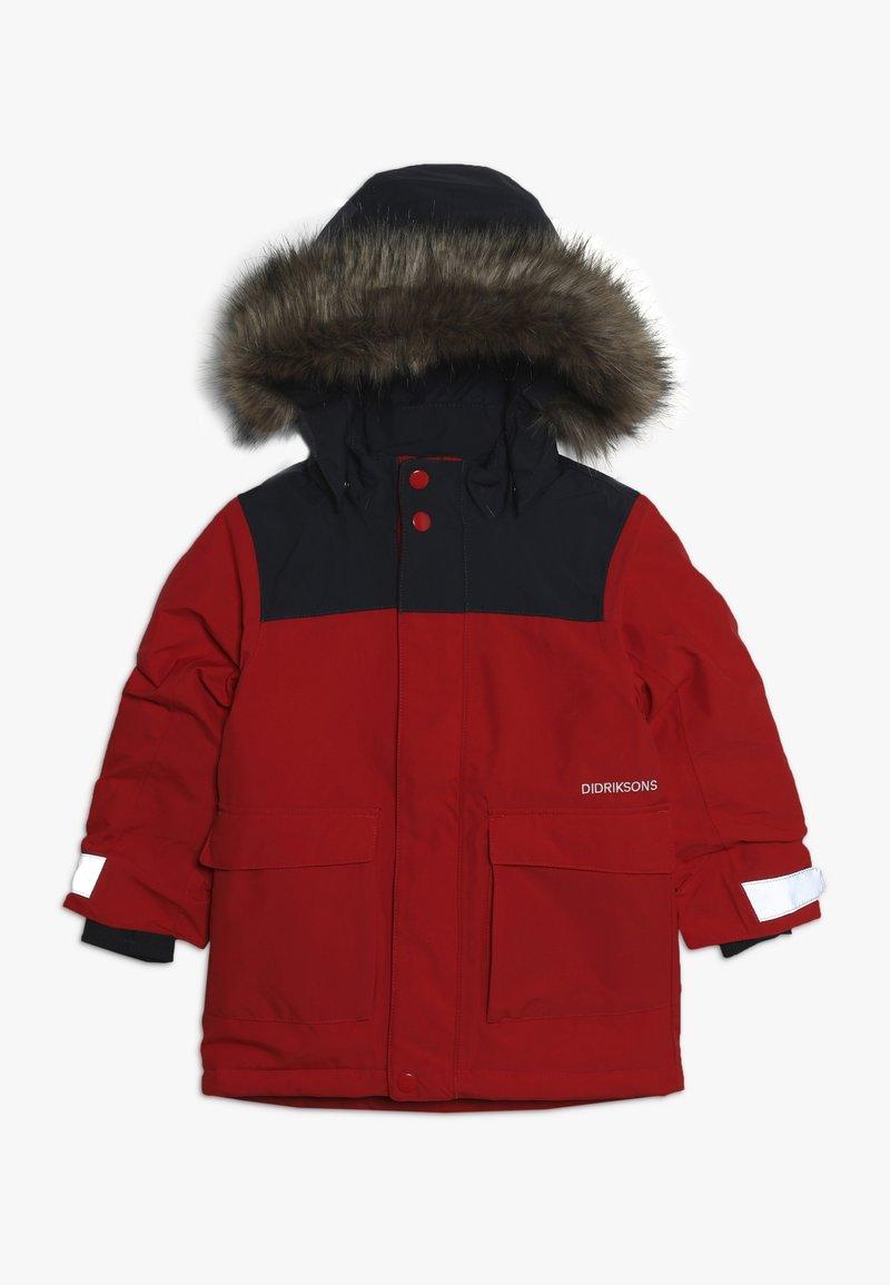 Didriksons - KURE KIDS - Winter jacket - chilli red