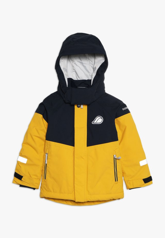LUN KIDS JACKET - Regnjacka - oat yellow