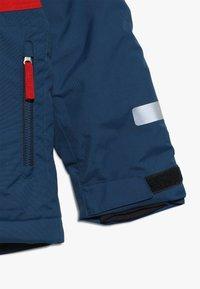 Didriksons - LUN KIDS JACKET - Vodotěsná bunda - hurricance blue - 3