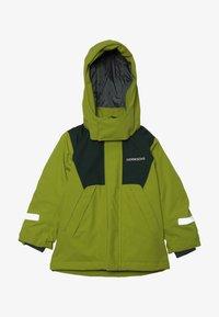 Didriksons - CASPIAN KIDS JACKET - Down jacket - lime - 3