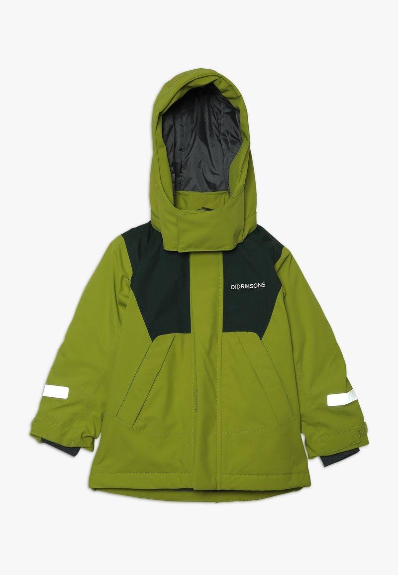 Didriksons - CASPIAN KIDS JACKET - Down jacket - lime