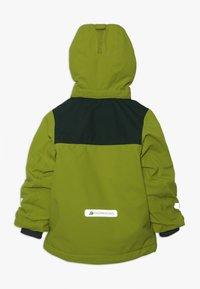 Didriksons - CASPIAN KIDS JACKET - Down jacket - lime - 1