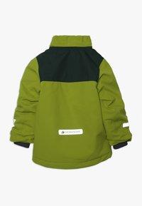 Didriksons - CASPIAN KIDS JACKET - Down jacket - lime - 2
