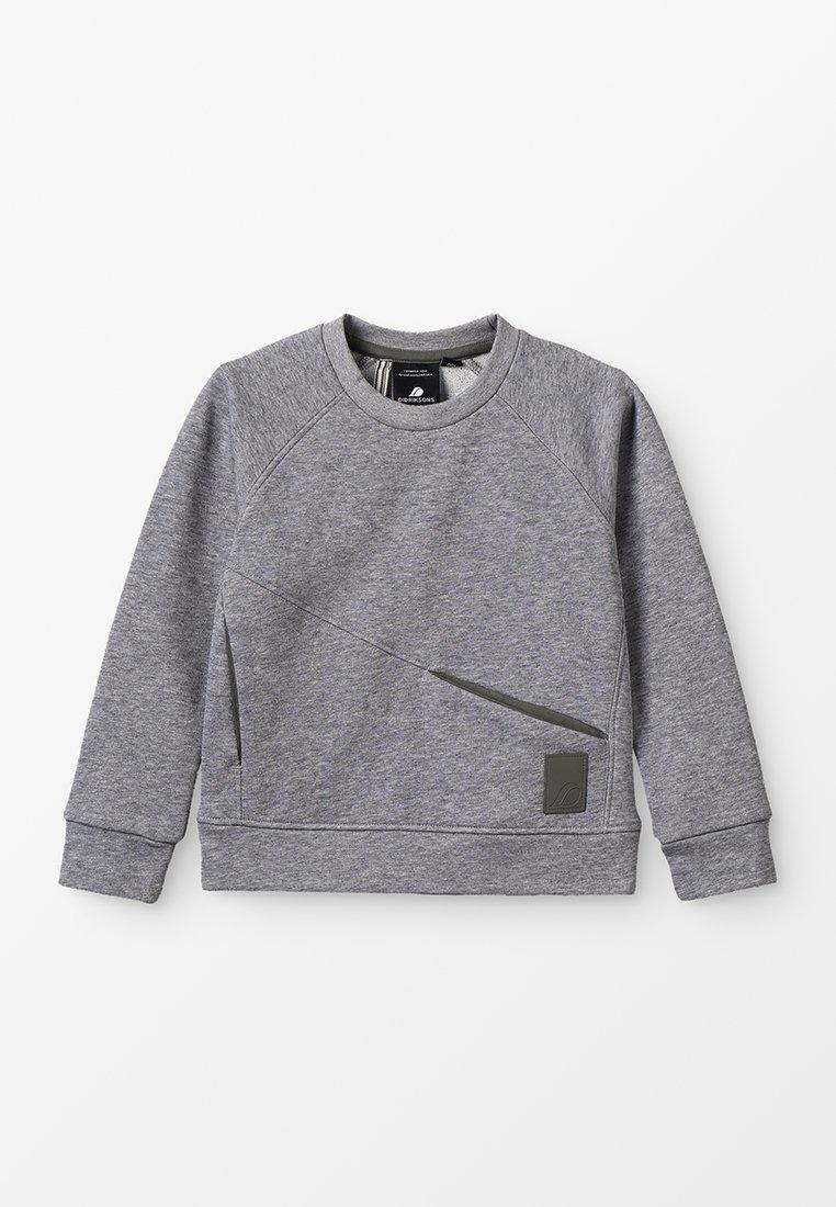 Didriksons - MASKEN KIDS - Sweatshirt - grey