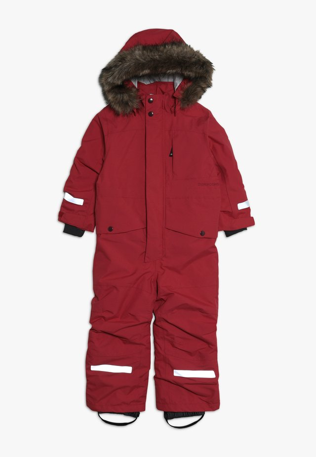 BJÖRNEN KIDS COVERALL - Combinaison de ski - rasberry red