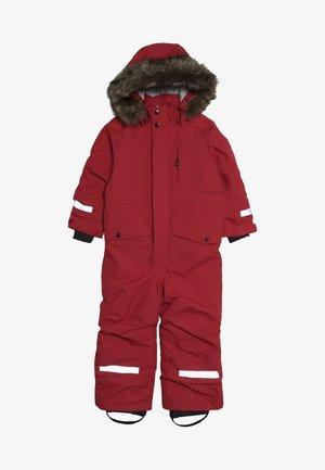 BJÖRNEN KIDS COVERALL - Combinaison de ski - rasberry red