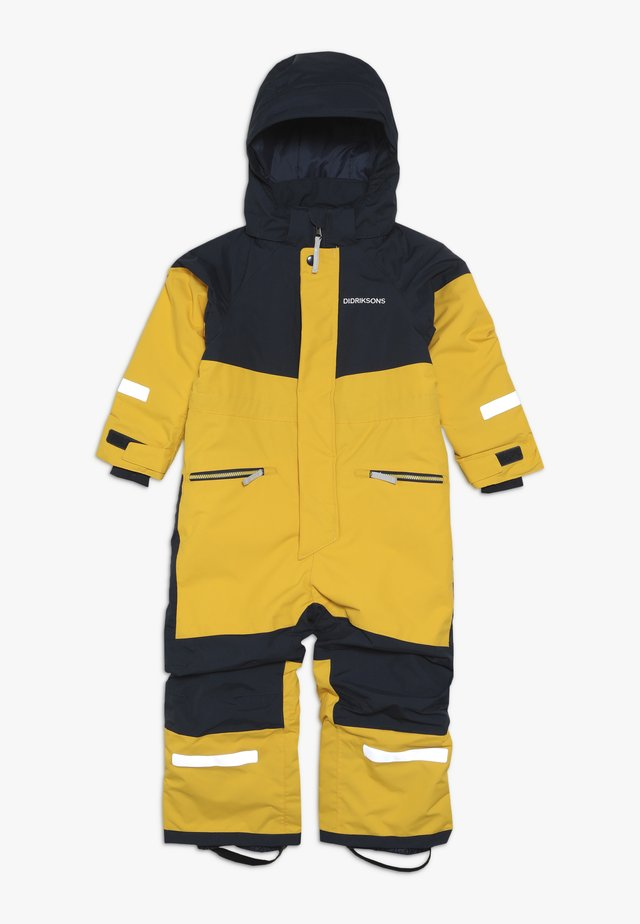 CORNELIUS KID'S COVERALL - Kombinezon zimowy - oat yellow