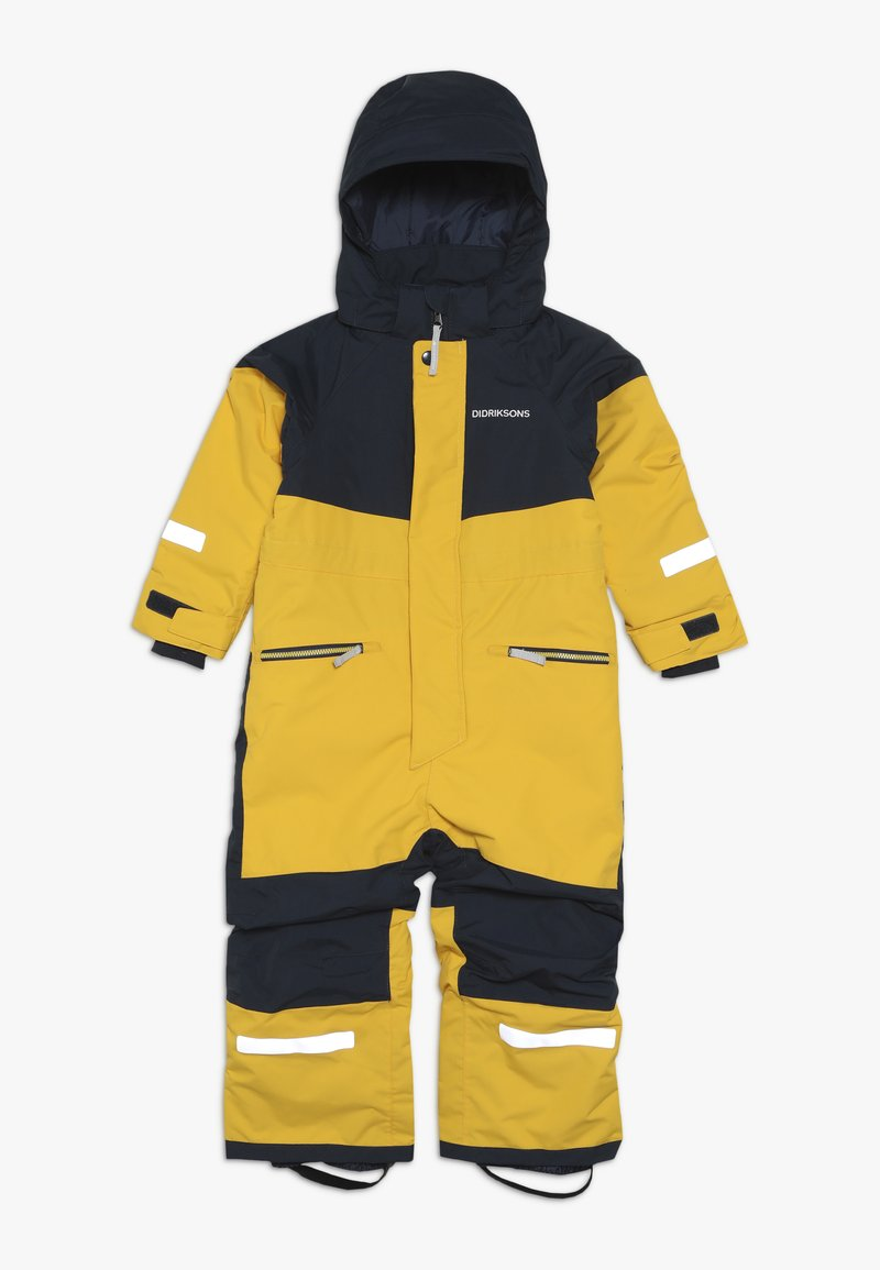 Didriksons - CORNELIUS KID'S COVERALL - Snowsuit - oat yellow