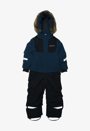 TIRIAN KID'S COVERALL - Täckbyxor - hurricance blue