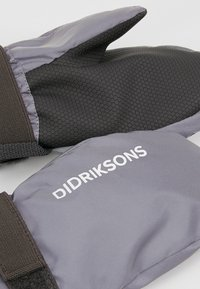 Didriksons - BIGGLES REFLECTIVE KIDS MITTENS - Lapaset - silver - 3