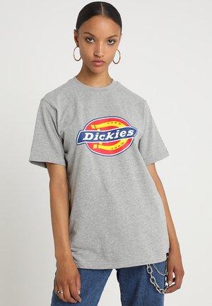 HORSESHOE TEE - Print T-shirt - gray melange