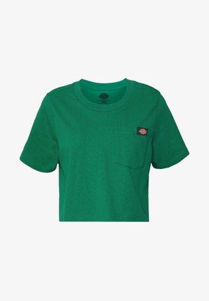 ELLENWOOD - Jednoduché triko - emerald