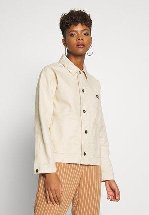TOCCOA - Denim jacket - light taupe