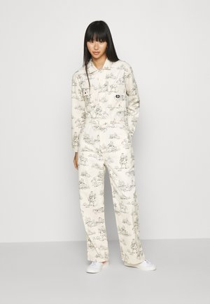 SIBLEY COVERALL - Jumpsuit - ecru