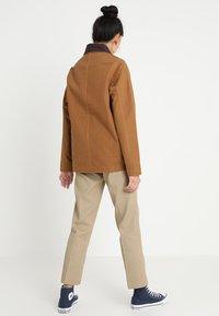 Dickies - NORWOOD - Summer jacket - pecan - 2