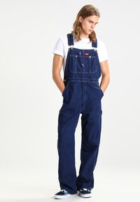 Dickies - BIB OVERALL - Overall /Buksedragter - rinsed indigo/blue - 0