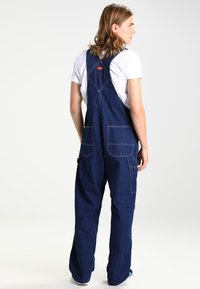 Dickies - BIB OVERALL - Overall /Buksedragter - rinsed indigo/blue - 2