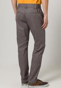 Dickies - SLIM SKINNY WORK PANT - Chino - gravel gray - 3