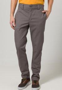 Dickies - SLIM SKINNY WORK PANT - Chino - gravel gray - 1