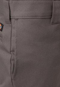 Dickies - SLIM SKINNY WORK PANT - Chino - gravel gray - 5