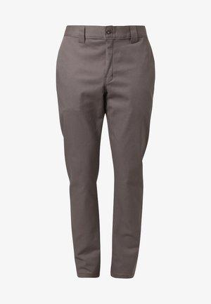 SLIM SKINNY WORK PANT - Chino - gravel gray