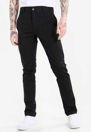 SLIM SKINNY WORK PANT - Chinos - black