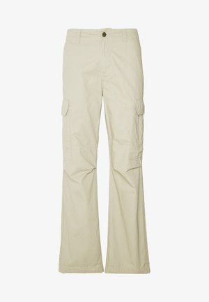 NEW YORK - Cargo trousers - khaki