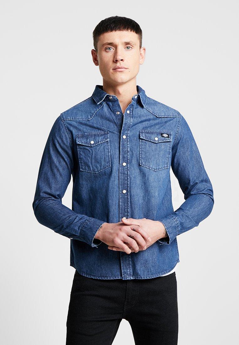 Dickies - WILLARD - Camisa - mid blue